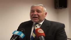 Declarații de presă Marius Nicoară după întâlnirea de lucru din reprezentanții Consiliului Județean Cluj și parlamentarii clujeni