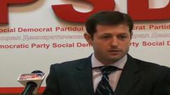Partidul Social Democrat - Adresare către Guvernul Republicii Moldova privind neadmiterea implicării în treburile interne ale Republicii Moldova