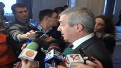 Declarațiile lui Călin Popescu Tăriceanu după ședința Biroului Politic Central al Partidului Național Liberal