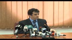 Conferință de presă susținută de Consiliul Superior al Magistraturii