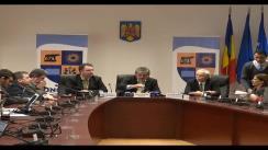Conferință de presă extraordinară cu participarea dlui Horea Uioreanu, Președintele Consiliului Județean Cluj