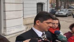 Declarațiile lui Titus Corlățean înaintea întrunirii Biroul Permanent National al PSD
