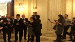 Declarație de presă după întâlnirea ministrului afacerilor externe, Titus Corlățean, cu președinții și membrii Comisiilor de politică externă ale Parlamentului