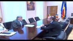 Declarații de presă cu ocazia întrevederii primarului municipiului Cluj-Napoca, dl. Emil Boc cu Excelența Sa, Dl. Vladimir Jarmolenko, ambasadorul Lituaniei la București
