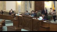 Ședința în plen a Senatului României din 22 ianuarie 2013