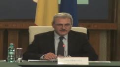 Comandament de iarna convocat de viceprim-ministrul, Liviu Dragnea