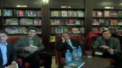 Lansare de carte ,,Adulter cu smochine și pescăruși'' de Adrian Cioroianu, invitat special - Liviu Antonesei, la Librăria Tafrali
