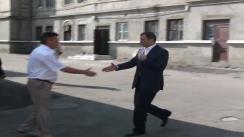 """Vizita de lucru a prim-ministrului Vlad Filat la uzina de tractoare """"Tracom"""""""