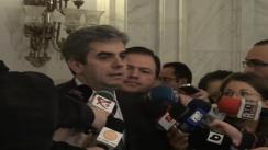 Declarațiile de presă susținute de Eugen Nicolăescu