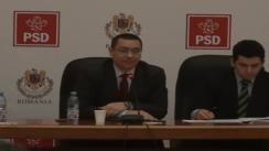 Imagini de la începutul ședinței Uniunii Sociale Liberale din 29 ianuarie 2013