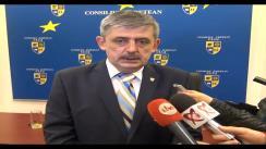 Declarații de presă dl. Horia Uioreanu după Ședința Ordinară a Consiliului Județean Cluj