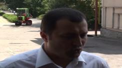 """Declarații pentru presă ale prim-ministrului Vlad Filat după vizita de lucru la uzina de tractoare """"Tracom"""""""