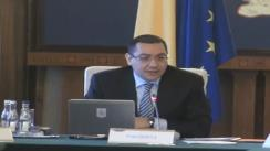 Ședința Guvernului României din 30 ianuarie 2013 (imagini protocolare)