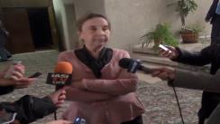 Declarațiile de presă al d-nei Viorica Frunză, președintele CPISC OPJ Iași