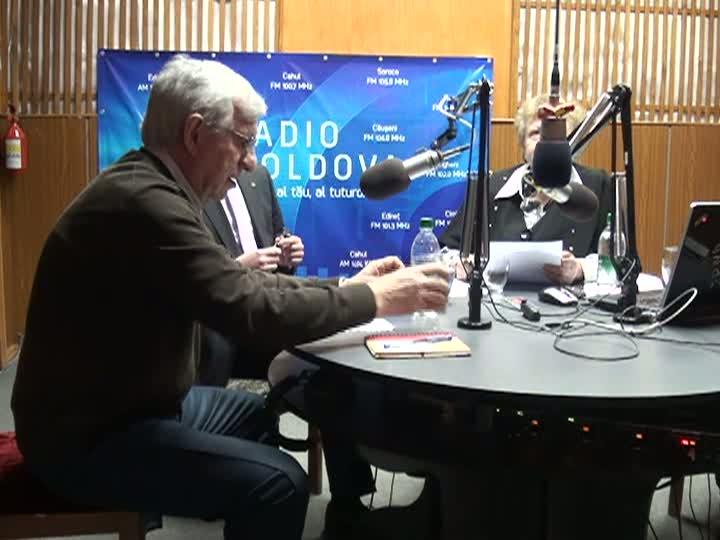 """Radio Moldova. """"Spațiul Public"""". Invitați - Dorin Drăguțanu, Mila Ghițu și Vlad Bercu"""