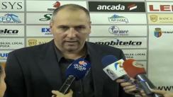Declarații de presă oferite de antrenorii Niksa Bavcevic (U Mobitelco Cluj) și Marcel Țenter (Gaz Metan Mediaș) după meciul de baschet U Mobitelco - Gaz Metan 59:84
