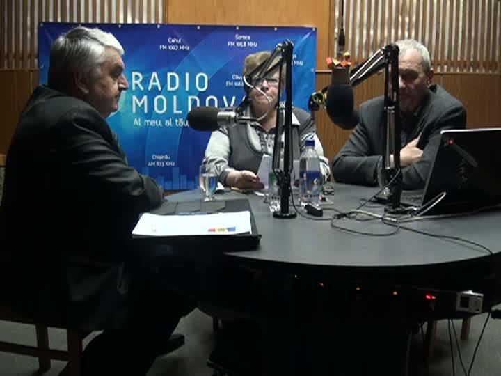 "Radio Moldova. ""Spațiul Public"". Invitați - Serafim Urecheanu și Arcadie Barbăroșie"