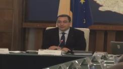 Ședința Guvernului României din 13 februarie 2013 (imagini protocolare)