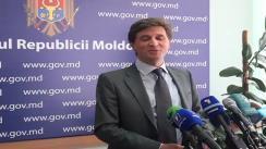 Declarații pentru presă ale ministrului de stat Victor Bodiu, după ședința guvernului din 10 august 2010
