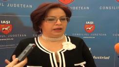 Declarațiile de presă al d-nei Renata Marin, șefa Direcției de Evidență al Populației Iași