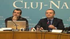 Conferință de presă susținută de primarul municipiului Cluj-Napoca, dl. Emil Boc, pe tema bugetului participativ