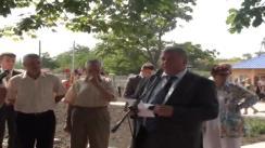 Inaugurarea unei grădinițe în satul Cucuruzeni, raionul Orhei