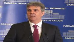 Declarație de presă susținută de Valeriu Zgonea după ședința Biroului permanent al Camerei Deputaților