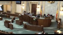 Ședința în plen a Senatului României  din 18 februarie 2013
