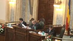 Ședința în plen a Senatului României  din 19 februarie 2013