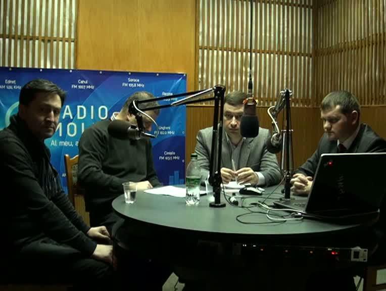 """Radio Moldova. """"Spațiul Public"""". Invitați - George Mocanu, Valeriu Munteanu, Vitalie Catană"""
