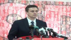 Conferință de presă susținută de purtătorul de cuvânt al PSD, Cătălin Ivan