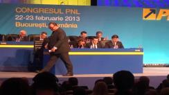 Discursul Primului Ministru al României Victor Ponta la Congresul Extraordinar al Partidului Național Liberal din 22 februarie 2013