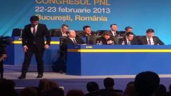 Discursul Președintelui UNPR, Gabriel Oprea la Congresul Extraordinar al Partidului Național Liberal din 22 februarie 2013