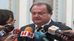 Declarații de presă susținute de președintelui PDL, Vasile Blaga după Consiliul Național de Coordonare a PDL din 23 februarie 2013