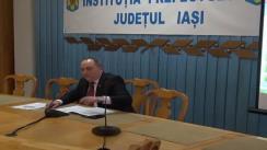 Ședința Colegiului Prefectural Iași din 26 februarie 2013