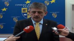 Declarații oferite de Horea Uioreanu, președintele Consiliului Județean Cluj, după ședința ordinară din 26 februarie 2013