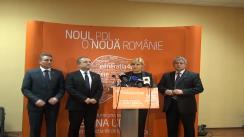 Conferință de presă susținută de Elena Udrea