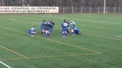 Antrenament comun cu echipa naționala de rugby 7 U19 si echipa naționala de rugby 7 seniori
