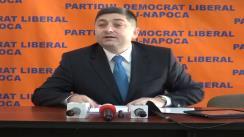 Conferință de presă susținută de senatorul PDL, dl. Alin Tișe