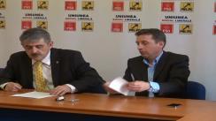 Conferință de presă susținută de Horea Uioreanu, vicepreședinte PNL, președinte interimar al PNL Cluj-Napoca