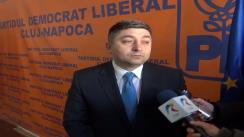 Declarații de presă oferite de Alin Tișe, senator PDL
