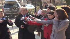 Declarații de presă făcute de primarul Clujului, Emil Boc, cu referire la aderarea României la spațiul Schengen