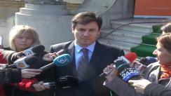 Declarații de presă făcute de ex-ministrul de Interne, Traian Igaș, cu referire la aderarea României la spațiul Schengen