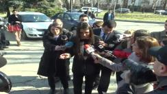 Declarații de presă susținute de Europarlamentarul PDL, Elena Băsescu, cu referire la aderarea României la spațiul Schengen
