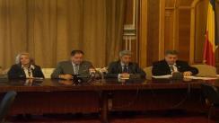 Conferință de presă susținută de Grupul Parlamentar al PP-DD