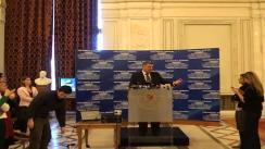 Declarații de presă susținute de președintele Camerei Deputaților, Valeriu Zgonea