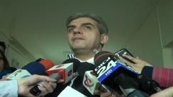 Declarații de presă susținute de Ministrul Sănătății, Eugen Nicolăescu