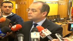 Declarații de presă oferite de dl. Emil Boc, primarul municipiului Cluj-Napoca, după conferința de presă din 6 martie 2013