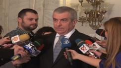 Declarațiile lui Călin Popescu Tăriceanu după ședința Biroului Permanent Național al PNL din 7 martie 2013