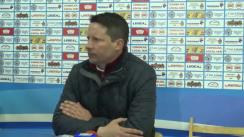 Conferința de presă după meciul CSMS Iași - CFR Cluj 1:1